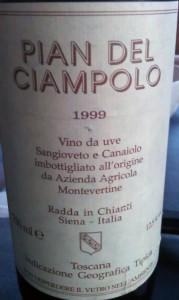 1999 Montevertine Pian del Ciampolo