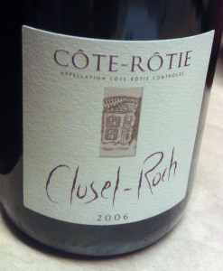 Clusel-Roch Cotie Rotie 2006