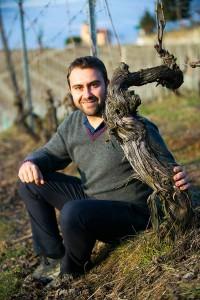 Luca Roagna i Asili vinmarken. Foto: roagna.com