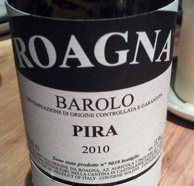 Roagna Barolo Pira 2010
