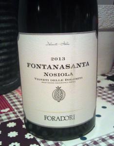 2013 Foradori Nosiola Fontanasanta