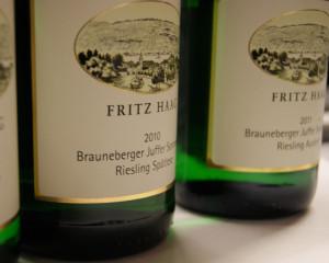 Fritz Haag Brauneberger Juffer Sonnenuhr Riesling Spätlese 2010