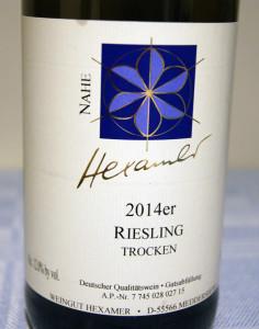 Hexamer Riesling trocken 2014